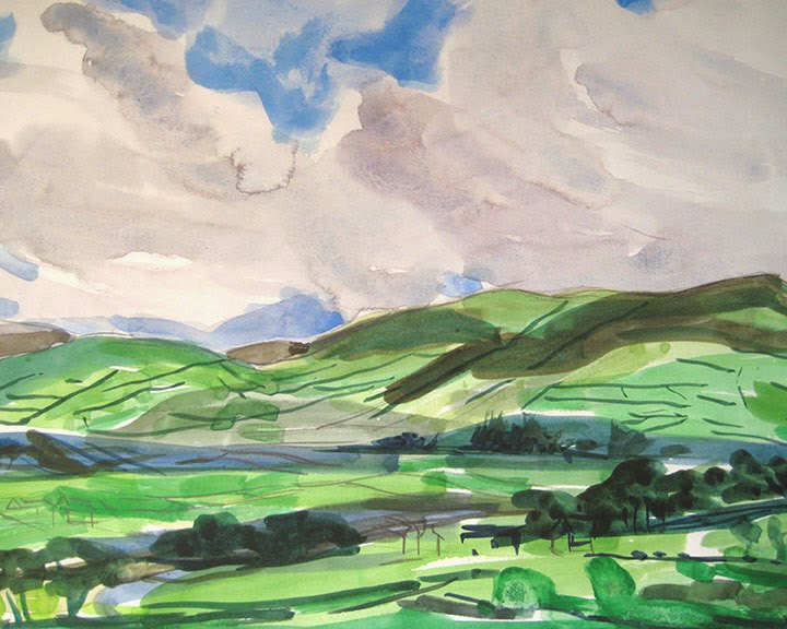 Clouds Over Ireland by Char Fitzpatrick