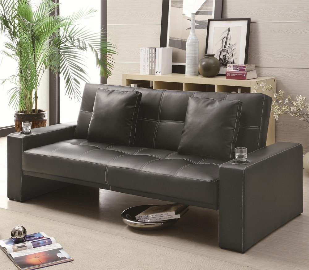 Total Fab Flip Fold Flat Convertible Sofa Bed Couches