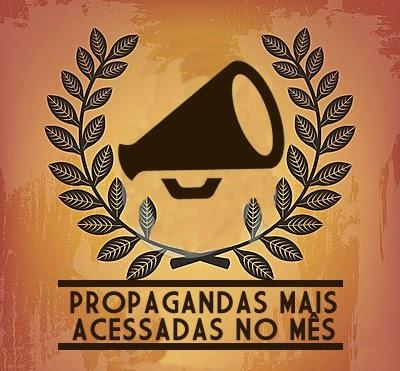 Confira o ranking das propagandas mais acessadas em nosso site no mês de setembro de 2014