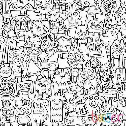 Los gr ficos del gato dibujos dificiles for Alfombras dibujos geometricos