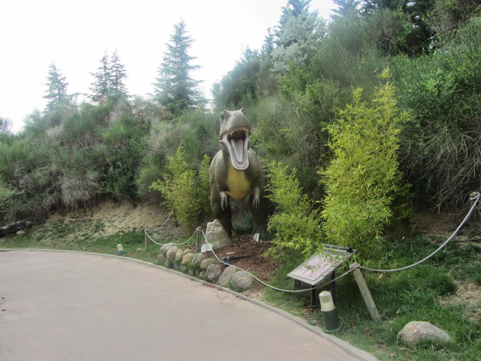 El Cañón de los Dinosaurios, un recorrido por estas especies prehistóricas.