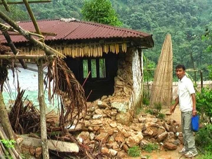 RTI Reveals 115 Earthquake victim yet to receive compensation in Kalimpong Bhalukhop GP