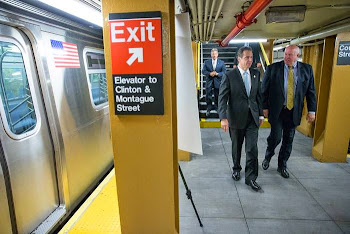 Governor Cuomo Checking Out the Subways This Weekend