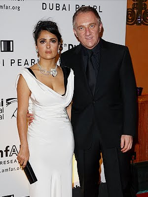 salma hayek husband and daughter. Husband Francois-; salma hayek