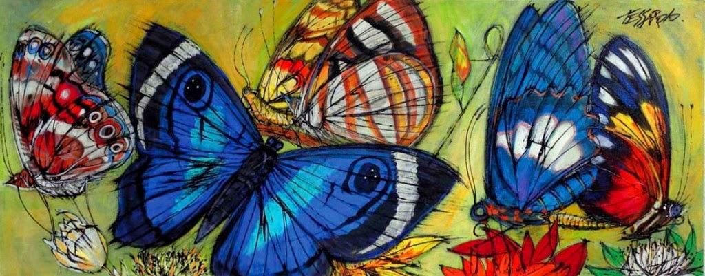 oleos-de-mariposas
