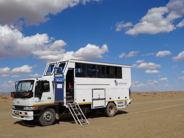 Our Mobile Tank for 3 Weeks in Africa