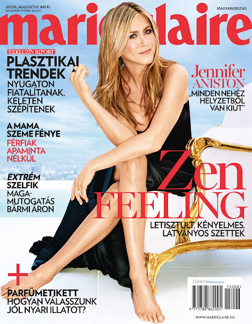 Actress @ Jennifer Aniston - Marie Claire Hungary, August 2015