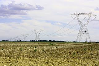 red de transporte electrico