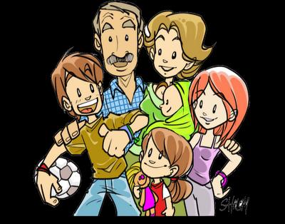gif familia: