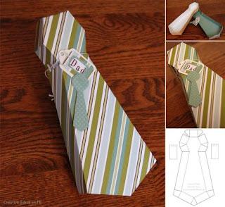 caixa gravata dia dos pais atividade dia dos pais