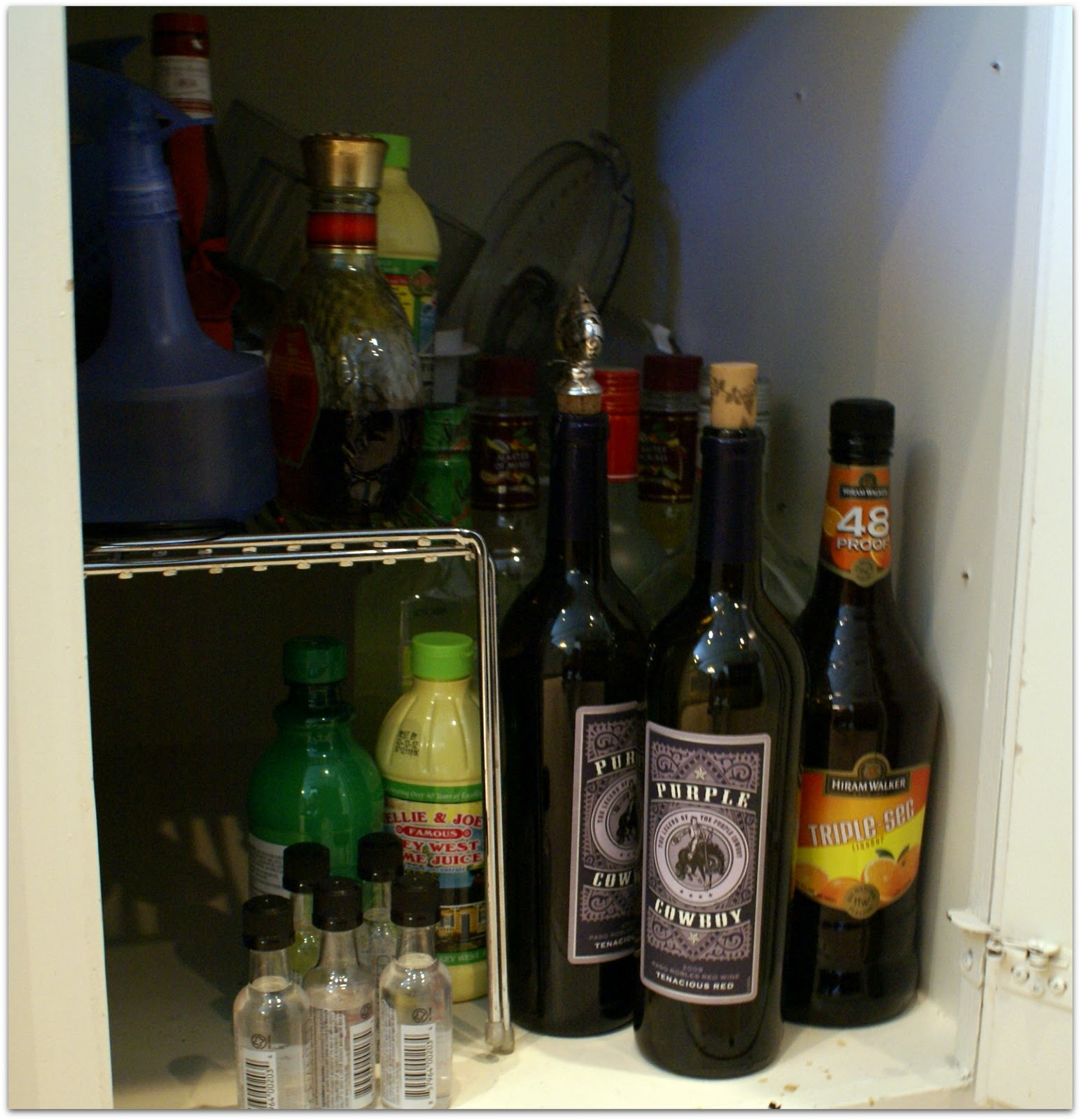 Make that a filthy kitchen cabinet!!!