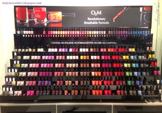 inglot nail polish color collection