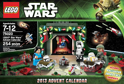 LEGO Star Wars Advent Calendar Cover Image