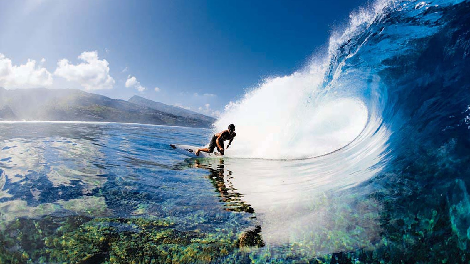 Images Cart : Tahiti Islands