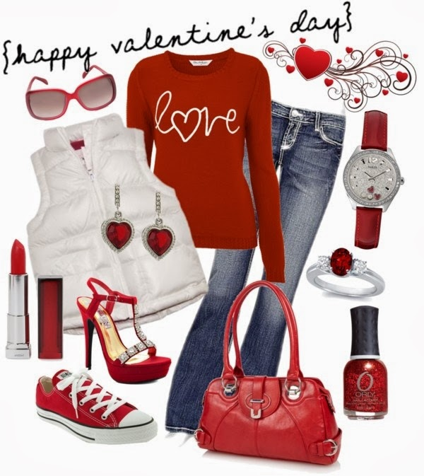 Frugal Fashion Friday Casual Valentine S Outfit Ideas The