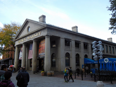 Quincy Market in downtown Boston