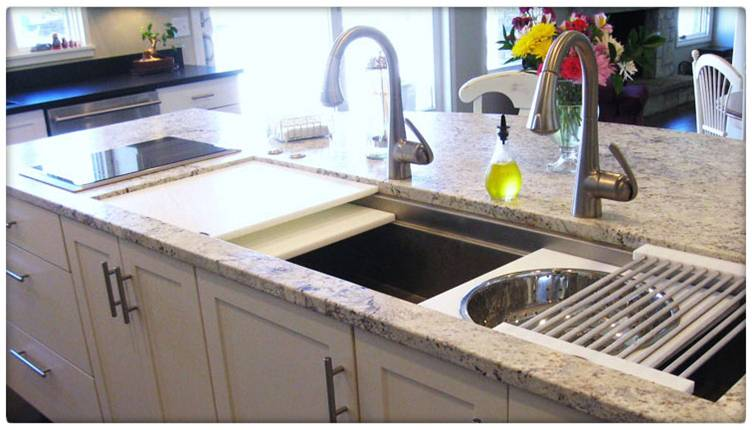 Trends for the heart of the home the red vault blog for New trends in kitchen sinks