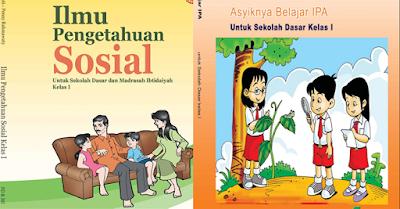 Buku pelajaran IPS dan IPA sd kelas 1