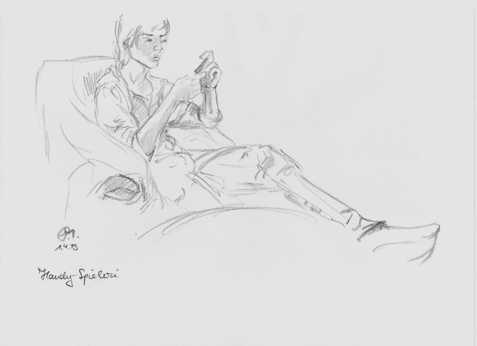Sessel zeichnung bleistift  heute zeichnen wir ... eine Gans: viel Zeit zum zeichnen