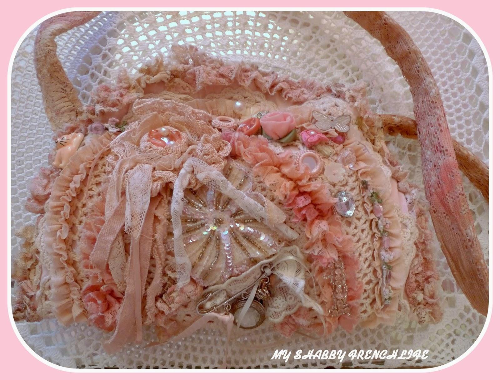 sac rose shabby