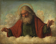 This is a painting called God the Father, by Cima da Conegliano.