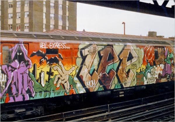 New York Graffiti subway hip hop 04