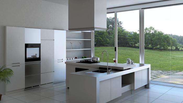 Zaarga featured brand of the month arttdinox for Steel modular kitchen designs