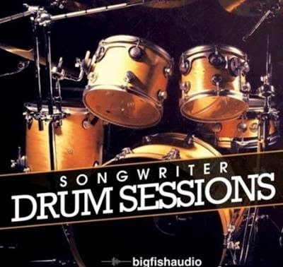 Big Fish Audio Songwriter Drum Sessions