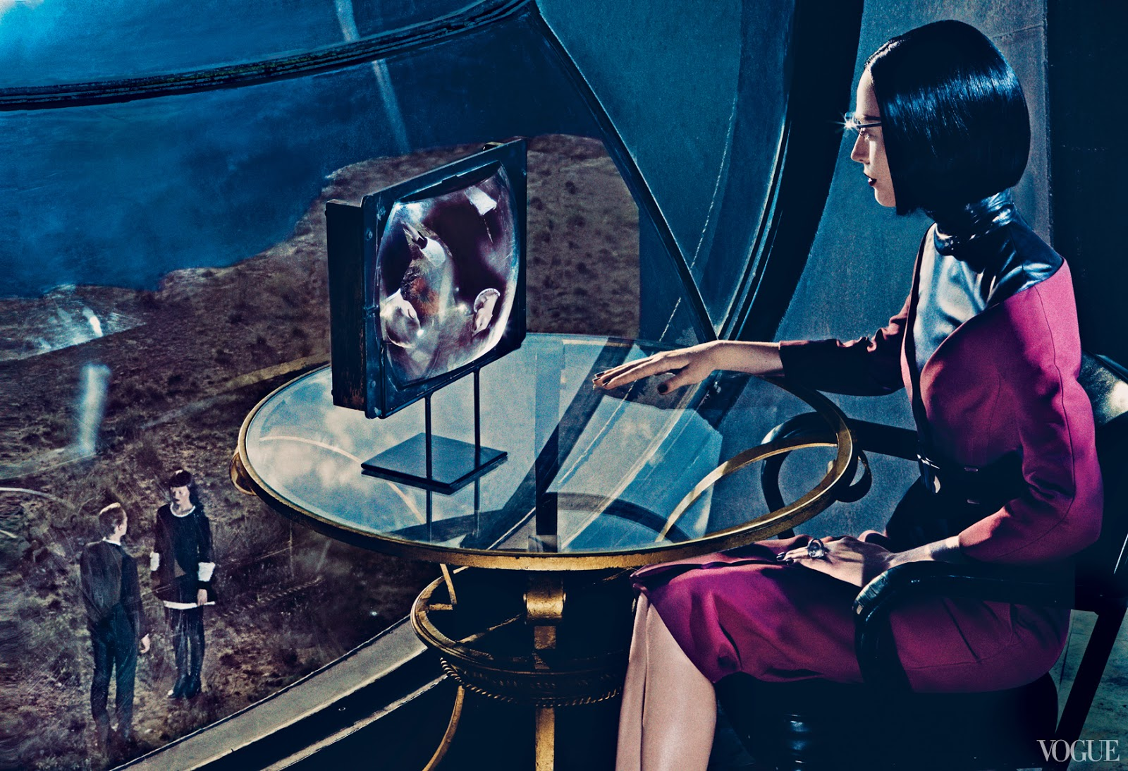 Doctor Ojiplático. The final Frontier. Steven Klein. Fashion Photography. Vogue, September 2013.