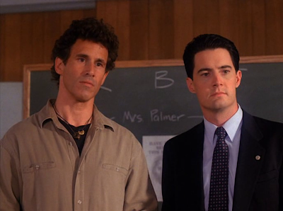 Sheriff Harry S. Truman and FBI Special Agent Dale Cooper
