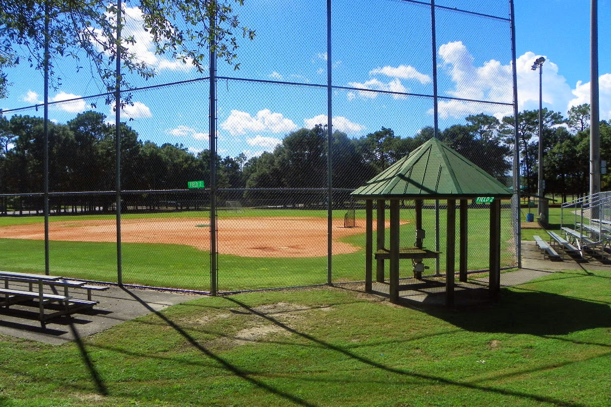 Baseball fields at Roger Scott Pensacola FL