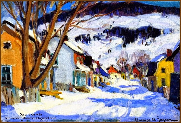 Famous Quebec Painter From Baie St Paul