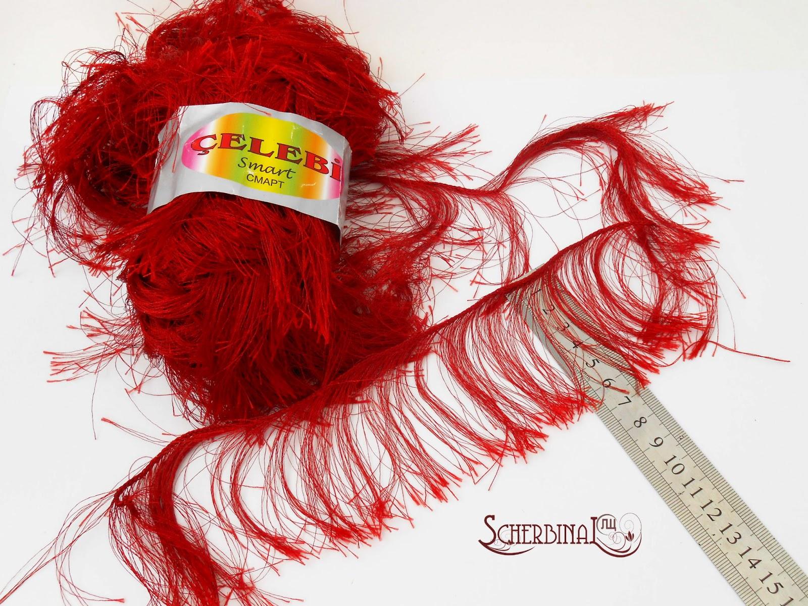 пряжа для волос игровой текстильной куклы