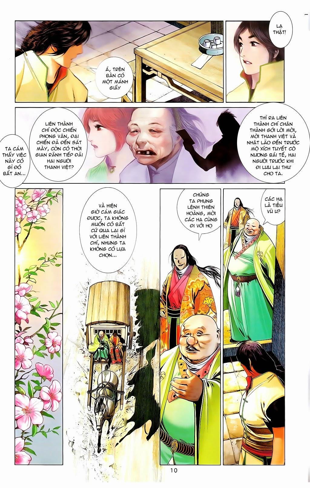 Phong Vân Chap 665 - Trang 9