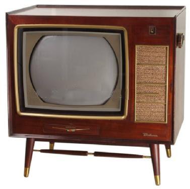 1960s tv set 1880s through the 1960s