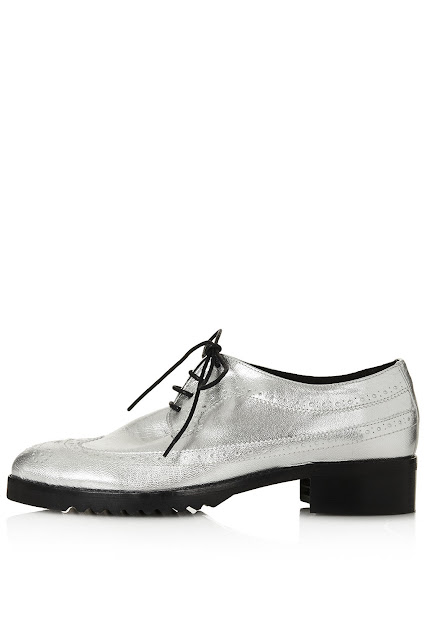 silver brogues,