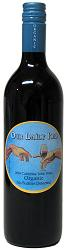 bottle of Our Daily Red California Table Wine, organic wine