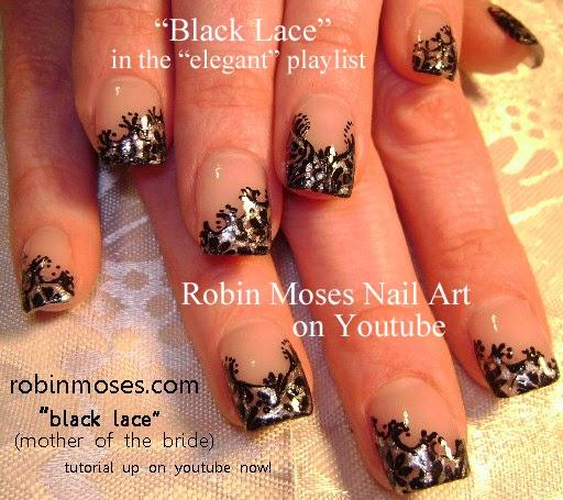 Robin moses nail art nail art prom nails pink black and nail art elegant prom nails wedding nails formal nails prinsesfo Images