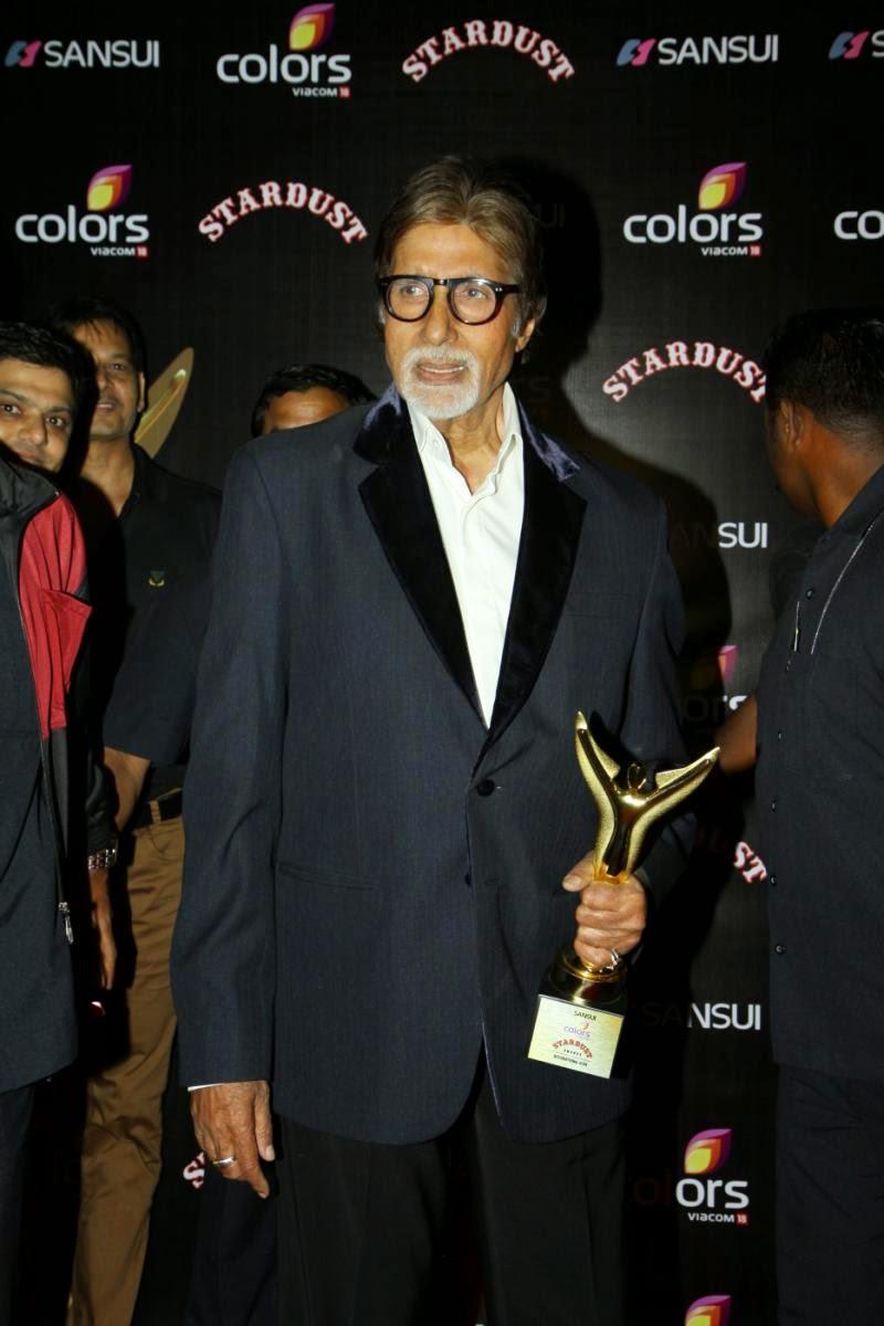 Sonam,Deepika, Jacqueline, Amithabh, SRK & Others sizzles at Stardust Awards 2014