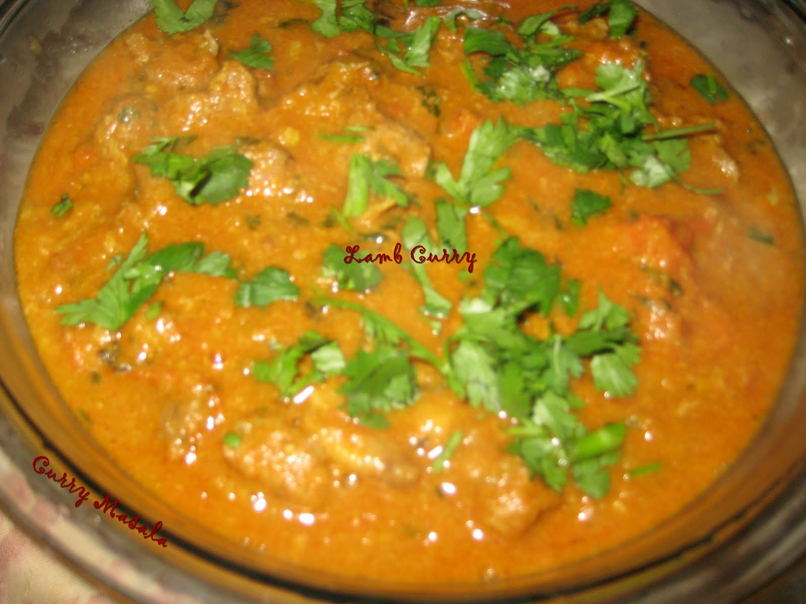 Curry Masala: Andhra Spicy Lamb Curry