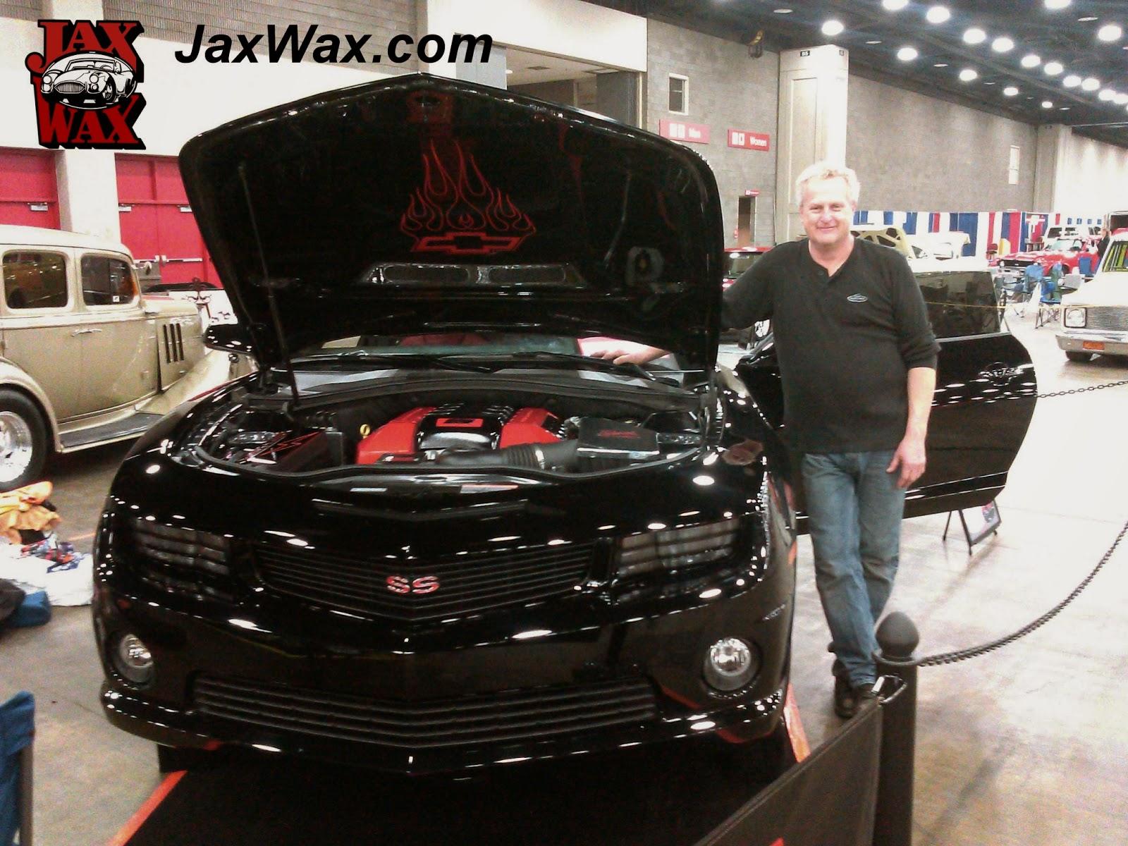 2010 Camaro SS Carl Casper Auto Show Jax Wax Customer