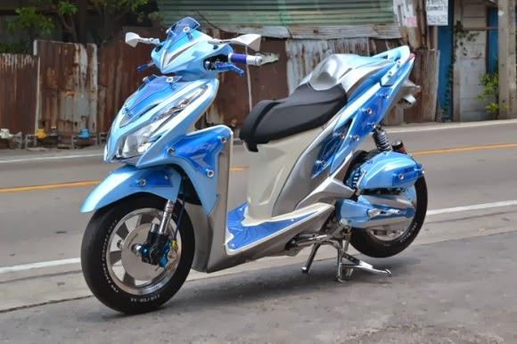 Modifikasi Honda Vario Techno 125
