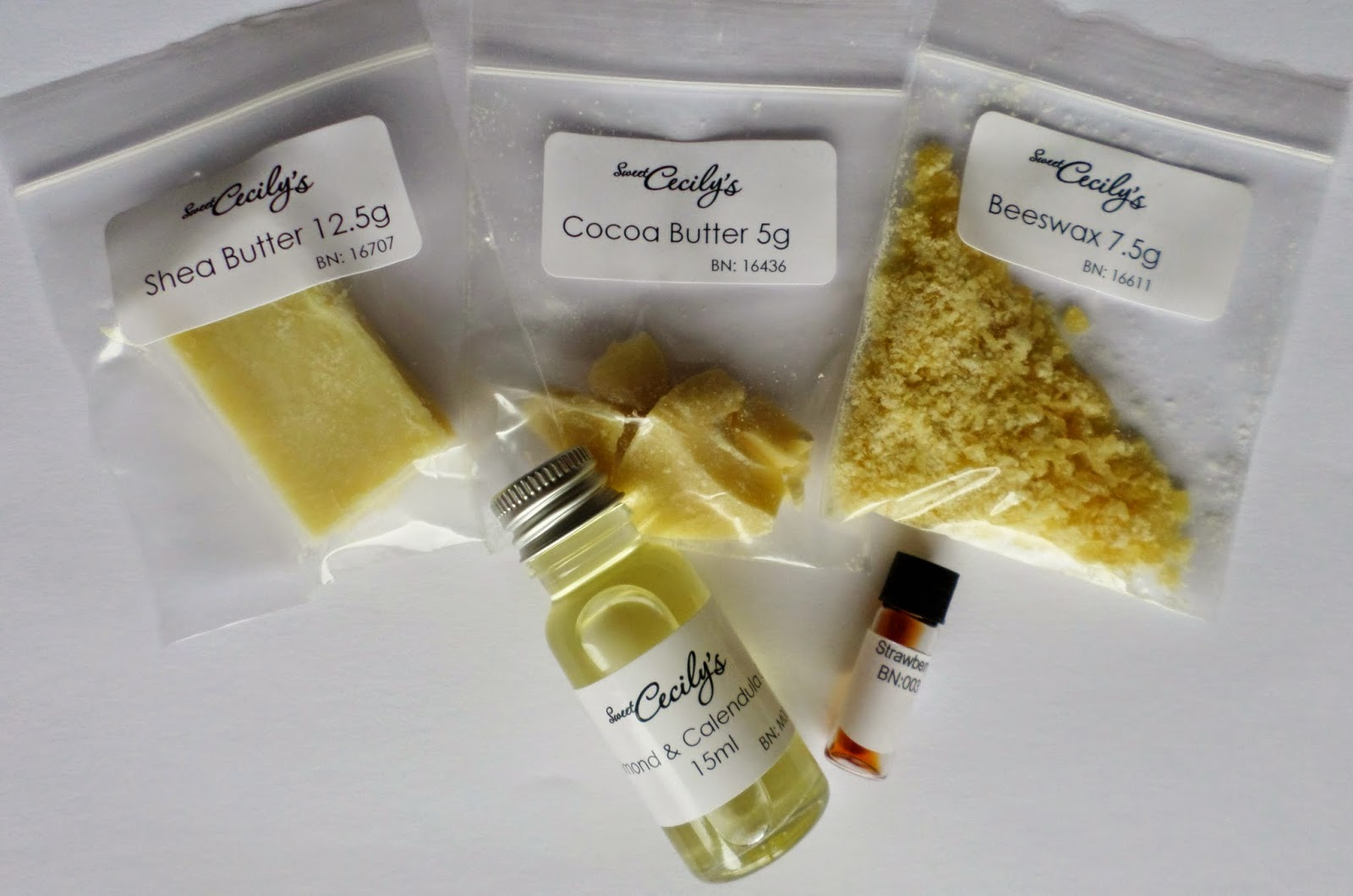 Sweet Cecily's Make Your Own DIY Natural Lipbalm Kit in Strawberry