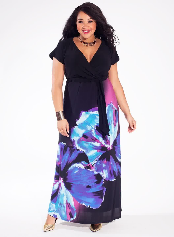 Модели летних платьев для полных женщин фото и выкройки