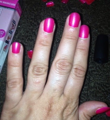 Broadway Nails imPRESS Press-on Manicure #review - Working Mommy Journal