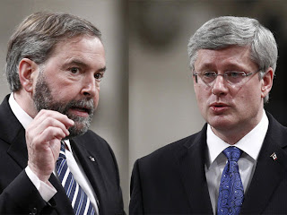 Haper Mulcair
