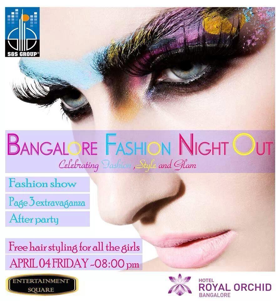 Bangalore Fashion Night out