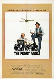 Watch The Front Page Online Free 1974 Putlocker