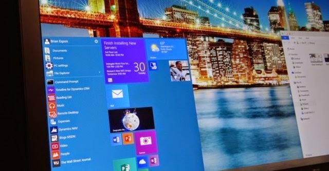 Windows 10 Technical Preview có bản cập nhật mới với hơn 7000 sửa đổi