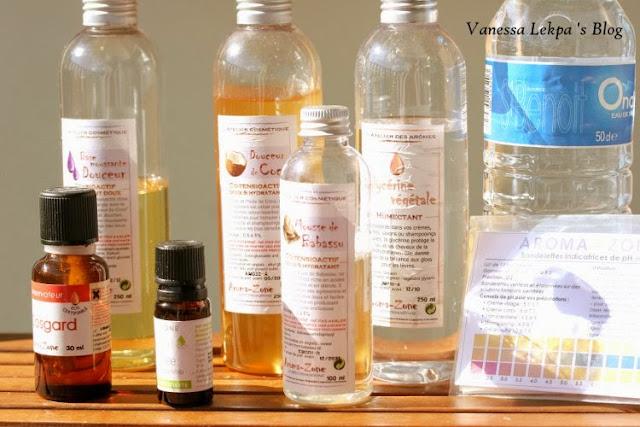 ingrédients pur recette nettoyant mousse visage PH neutre aromazone